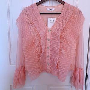 Pink shirts & blouses